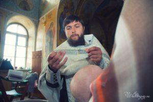 Фотограф на крещение детей в церковь