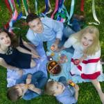 недорогая семейная фотосессия