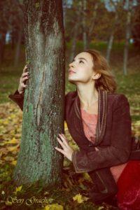 осенние фотосессии девушек на природе цена