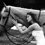 Свадебная фотосессия с лошадьми