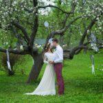 Свадебные весенние фотосессии в Москве