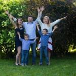 семейные фотосессии с детьми на природе