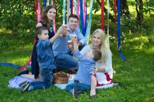 семейные фотосессии с детьми фото