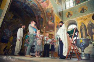 Фотограф на крещение ребенка Москва