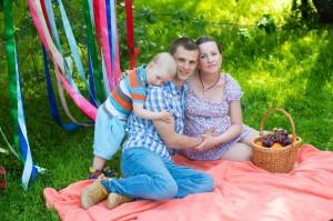 фотосессия для беременных семейные в Москве