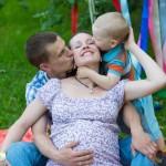 фотосессия семейная беременность