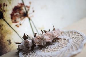 купить свадебный букет из полимерной глины