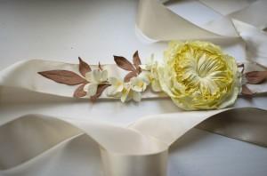 Свадебные аксессуары из глины