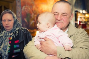 Крестины детей в Москве