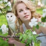 Свадебная фотосъемка с совой