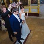 съемка венчания в церкви
