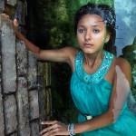Портрет девушки в воде