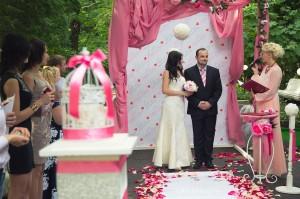Фотограф на выездную свадьбу в Одинцово