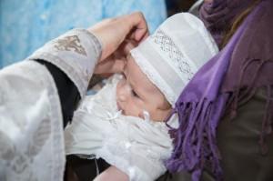 Крещение детей в церкви Одинцово