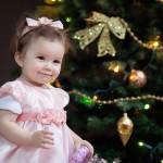 Новогодняя фотосессия малышей