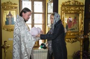 Крещение детей в церкви Голицыно
