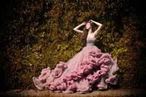 фотосессия в шикарном платье
