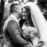 чб свадебные фотографии в Голицыно