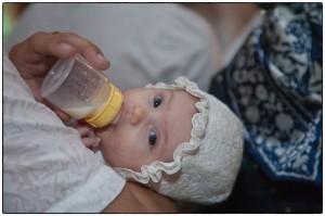 Ретуал крещения ребенка