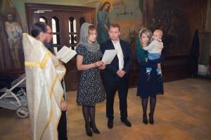 Фотограф на Таинство крещения в Звенигороде