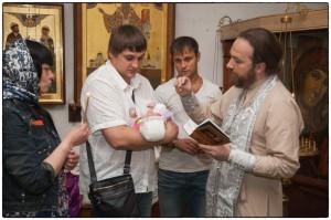Фотограф в Голицыно на таинство крещения