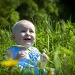 фотосессия детей весной